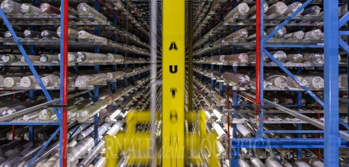 La logistica dei tessuti di bru textiles creativit in for Piano del magazzino