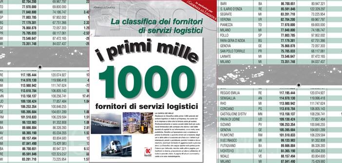 La classifica dei primi 1.000 fornitori di servizi logistici
