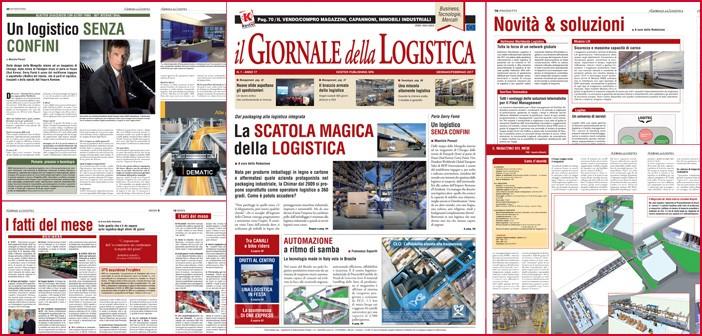 Il Giornale della Logistica di gennaio – febbraio 2017