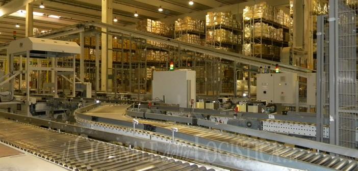 Il magazzino di OVS – XPO Logistics Italy a Pontenure (PC