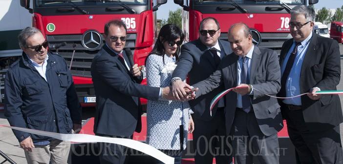 Nuovi servizi per gli autotrasportatori a Piacenza grazie al terminal multifunzione inaugurato dal Gruppo Torello
