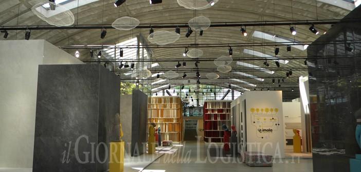 Cooperativa Ceramica d\'Imola: georeferenziazione in magazzino