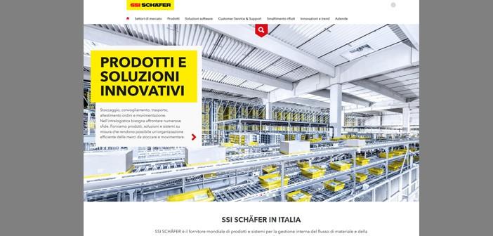 SSI Schäfer lancia un nuovo sito internet e conferma una strategia del marchio sempre più orientata alle esigenze dei clienti