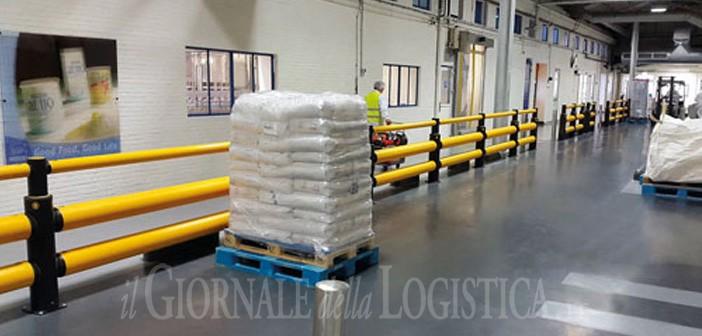 Nestlé punta sulla sicurezza e sceglie le barriere A-SAFE per proteggere il traffico veicolare