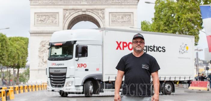 Gli autisti di XPO Logistics vincono la sfida del Tour de France