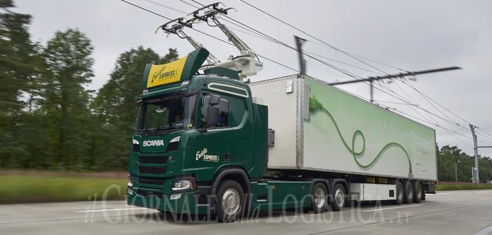 A 35 Brebemi e Scania verso la prima autostrada elettrificata a impatto zero