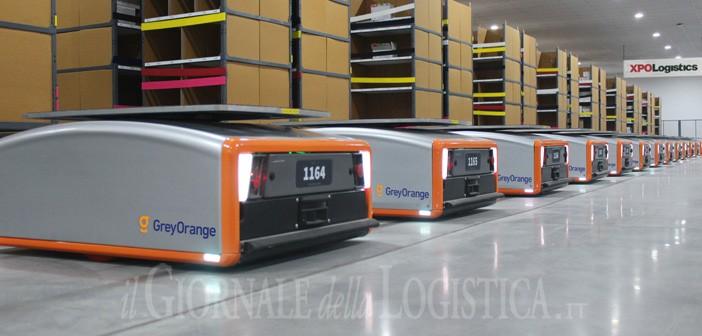 XPO punta sui robot collaborativi. Prevista l'installazione di 5.000 unità intelligenti nei magazzini in Europa e Nord America