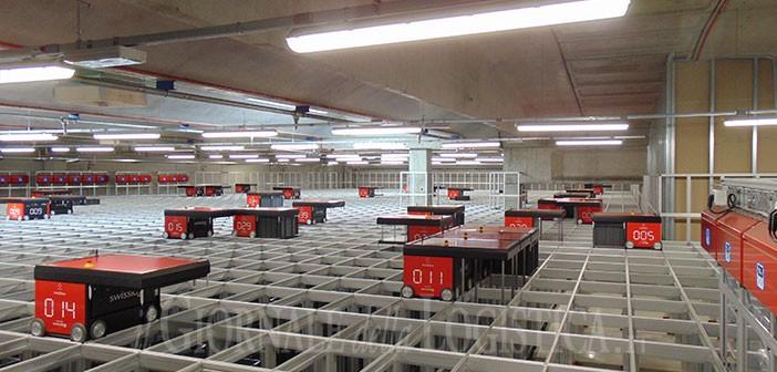 Comoli Ferrari sceglie la tecnologia AutoStore implementata da Swisslog: un bosco in magazzino