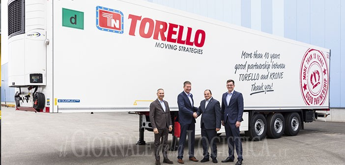 Torello e Krone festeggiano i dieci anni di collaborazione