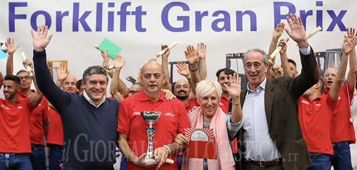 Belron Forklift Grand Prix: and the winner is…