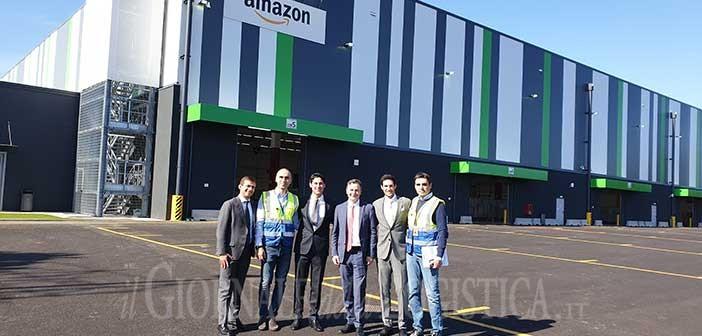 Cresce il network Amazon in Italia: attivato nuovo deposito a Santantarcangelo di Romagna (RN)