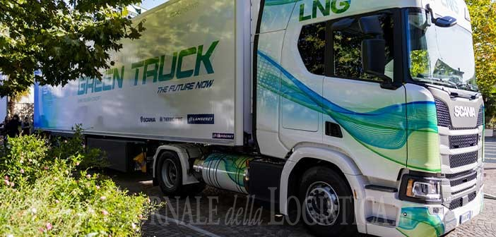 """Trasporto sostenibile: arriva il """"Green Truck"""" di Lamberet, Thermo King e Scania"""