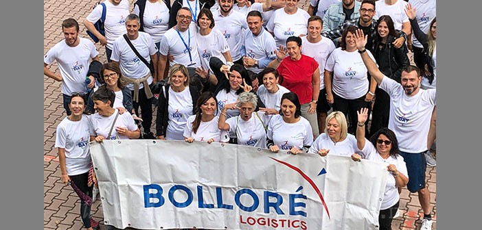 Bolloré Logistics Italy partecipa alla quarta edizione di Marathon Day per SOS Village d'Enfants