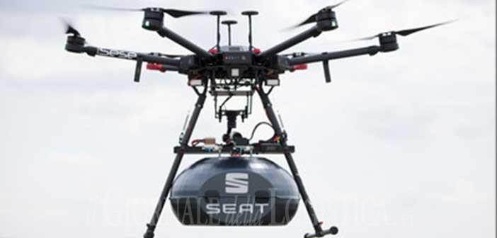 Così al volante spuntarono le ali: SEAT implementa i droni nell'area di montaggio