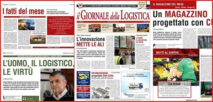 Il Giornale della Logistica di Marzo 2020: sfoglia l'anteprima