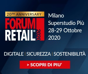 FORUM RETAIL – square banner dal 29 settembre al 29 ottobre 2020