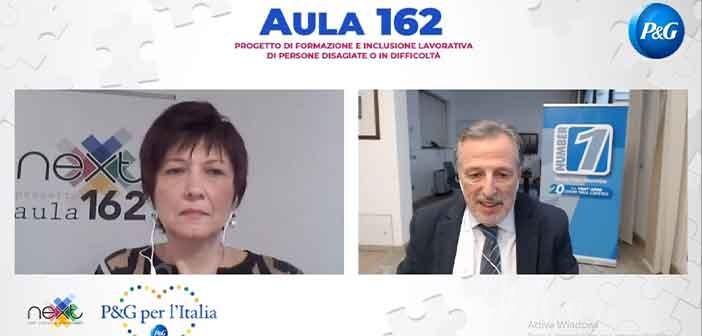 """""""Aula 162"""": il progetto di inclusione lavorativa di Associazione Next e Procter & Gamble Italia"""