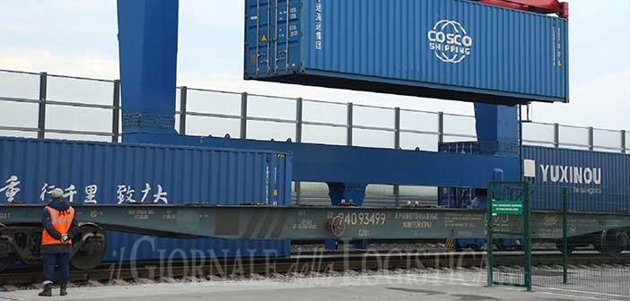 Cargo ferroviario: tra Cina ed Europa cresce il trasporto di container su rotaia