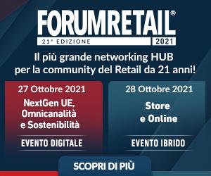 FORUM RETAIL – square banner dal 31 agosto al 28 ottobre 2021