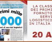 SPECIALE: La Classifica dei primi mille operatori di servizi logistici in Italia, edizione 2021